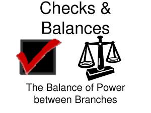 Checks And Balances Quotes