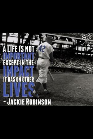 Jackie Robinson...42