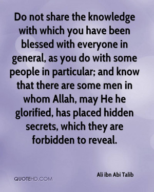 Related Pictures ali ibn abi talib as surely silence can sometimes be ...