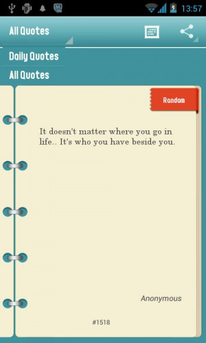 Daily Quotes-Quotes of pics - screenshot