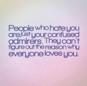 quotes about jealous people and haters
