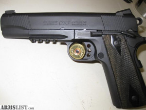 Colt 45 Rail Gun