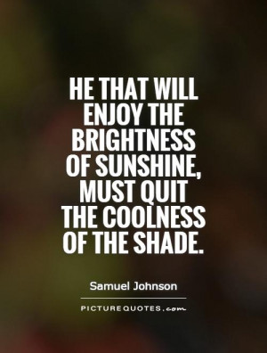Enjoy the Sunshine Quotes