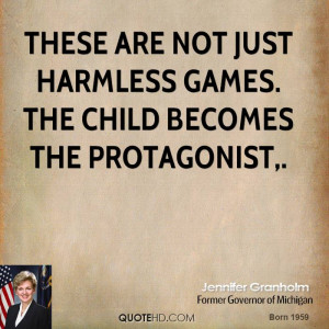 These are not just harmless games. The child becomes the protagonist.