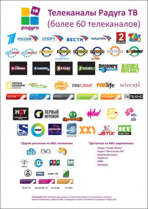 Network TV Channel Logos