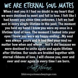 Soul Mate Quotes True Love