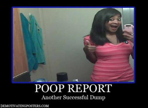 funny poop, demotivational posters