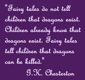 Chesterton- Dragons