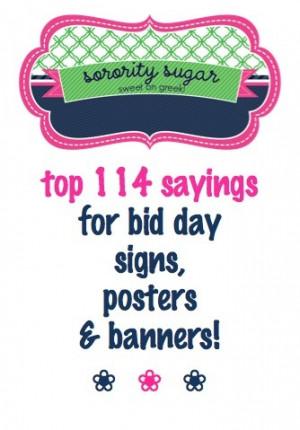 your new members on bid day!! Bid Day Signs, Alpha Chi Omega Bid Day ...