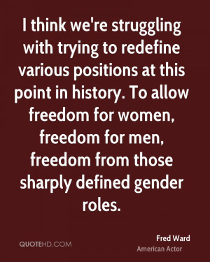 Gender Role Quotes