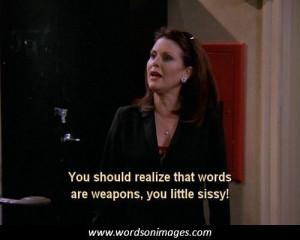 Karen walker quotes