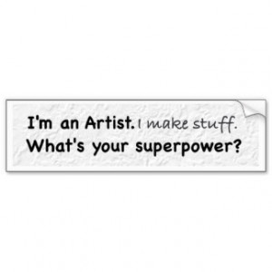 What's Your Superpower Bumper Stickers, What's Your Superpower Bumper ...