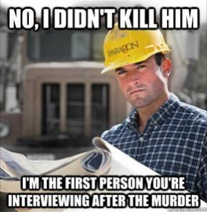 SVU Construction Worker
