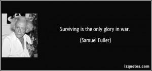 More Samuel Fuller Quotes
