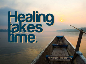 Healing takes time, the natural way, anyway. :) #quotes ...