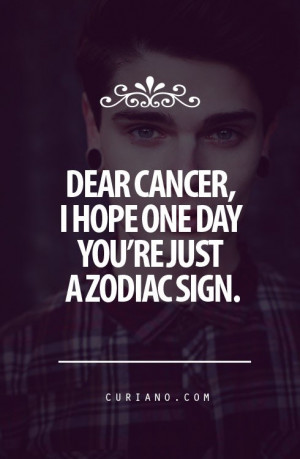 Cancer quotes, deep, meaning, sayings, inspiring