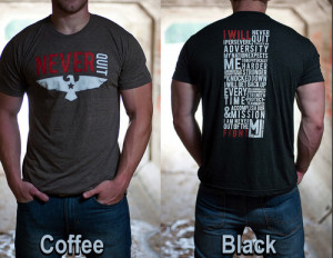 Never Quit Navy Seal Creed T-Shirt