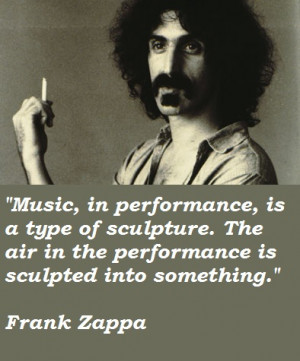 Liked these Frank Zappa Quotes ? Then share them with everyone you ...