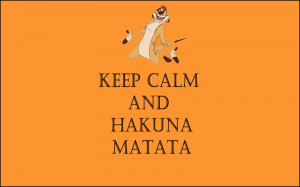 minimalistic orange quotes textures the lion king keep calm and hakuna ...
