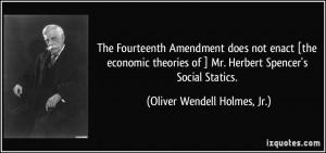 Civics and economics the 14th amendment