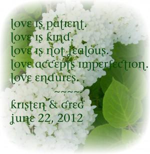 Irish Wedding LOVE this quote!!!