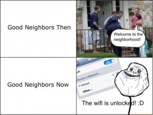 funny picture neighbors then now wanna joke.com