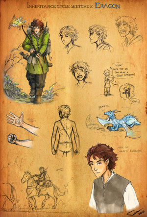 the-legend-of-eragon:Inheritance Cycle Sketches: Eragon by Ticcy.