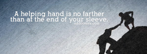 Hand {Advice Quotes Facebook Timeline Cover Picture, Advice Quotes ...