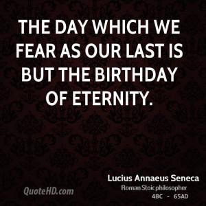 Lucius Annaeus Seneca Death Quotes