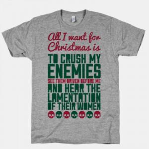 Genghis Khan Quotes Enemies