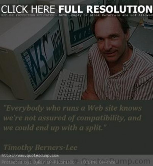timothy berners lee picture Quotes 3