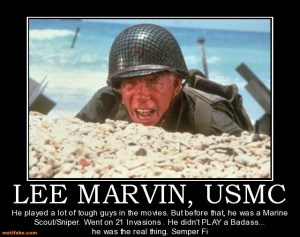 Lee Marvin Usmc Photo The