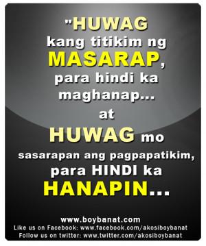 Joke Quotes Tagalog 2011