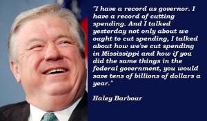 Haley barbour famous quotes 1