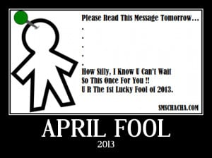 Hate April Fool Day