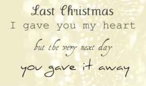 christmas, heart, quote, sad