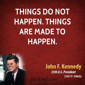 Inspirational John Kennedy...