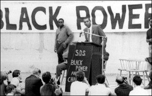Stokely Carmichael speaks at the University of California's Greek ...