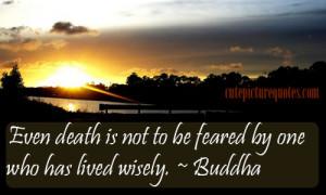 Fear Quotes / Gautam Buddha Quotes / Wise Quotes