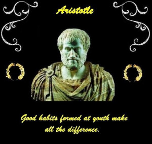 Aristotle quotes and sayings famous young people habits