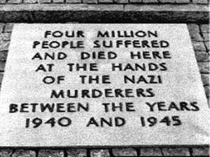 The Auschwitz-Birkenau memorial, located today on the site of the ...