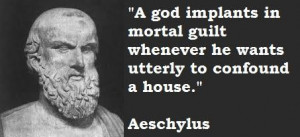 Aeschylus famous quotes 2