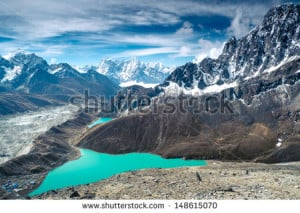 Snow Capped Mountains Stock Photos Illustrations And Vector Art