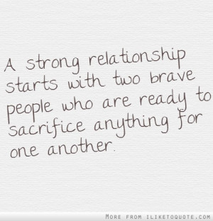 Maybe some people are meant to be together and some aren't, but I ...