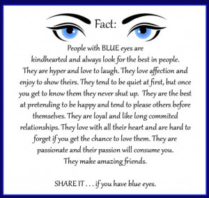 Blue Eyes Facts, Greenish Blue, Blue Eye Quotes And Sayings, Blue Eyes ...