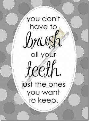 When my girls whine about brushing their teeth (Do I have to?), this ...
