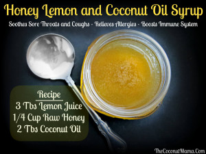 Honey and Lemon Syrup with Coconut Oil: An Immunity Boosting Cough ...
