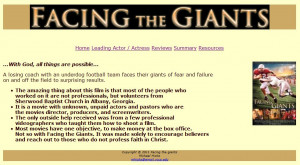 Facing the Giants Movie Quotes