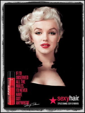 sexy hair marilyn monroe MAIN marthafied
