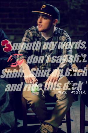 MAC MILLER ONLY!